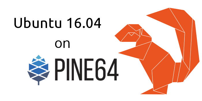 upidev ubuntu 16.04 pine64 installation