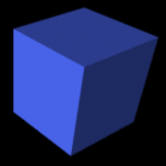 vpython 3d bluebox