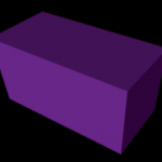 vpython 3d purplebox
