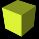 vpython 3d yellowbox