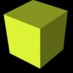 vpython 3d yellowbox